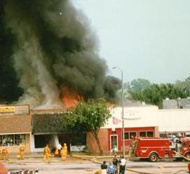 Fire - BSFD Oak St. 1996