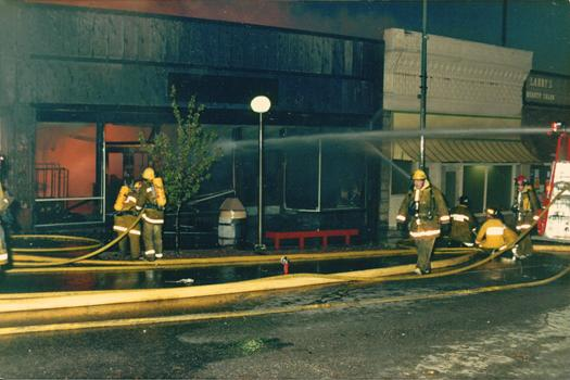 Fire - BSFD Oak St 1985