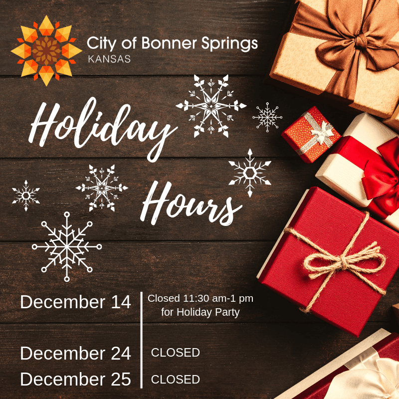 2018 Holiday Hours