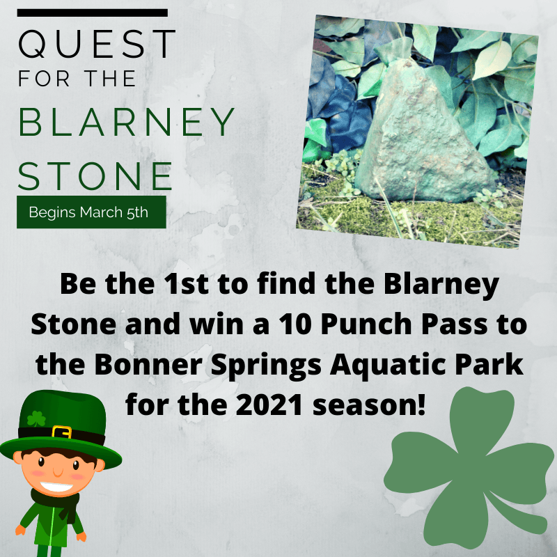 Quest 4 Blarney Stone 2020_Clue 1
